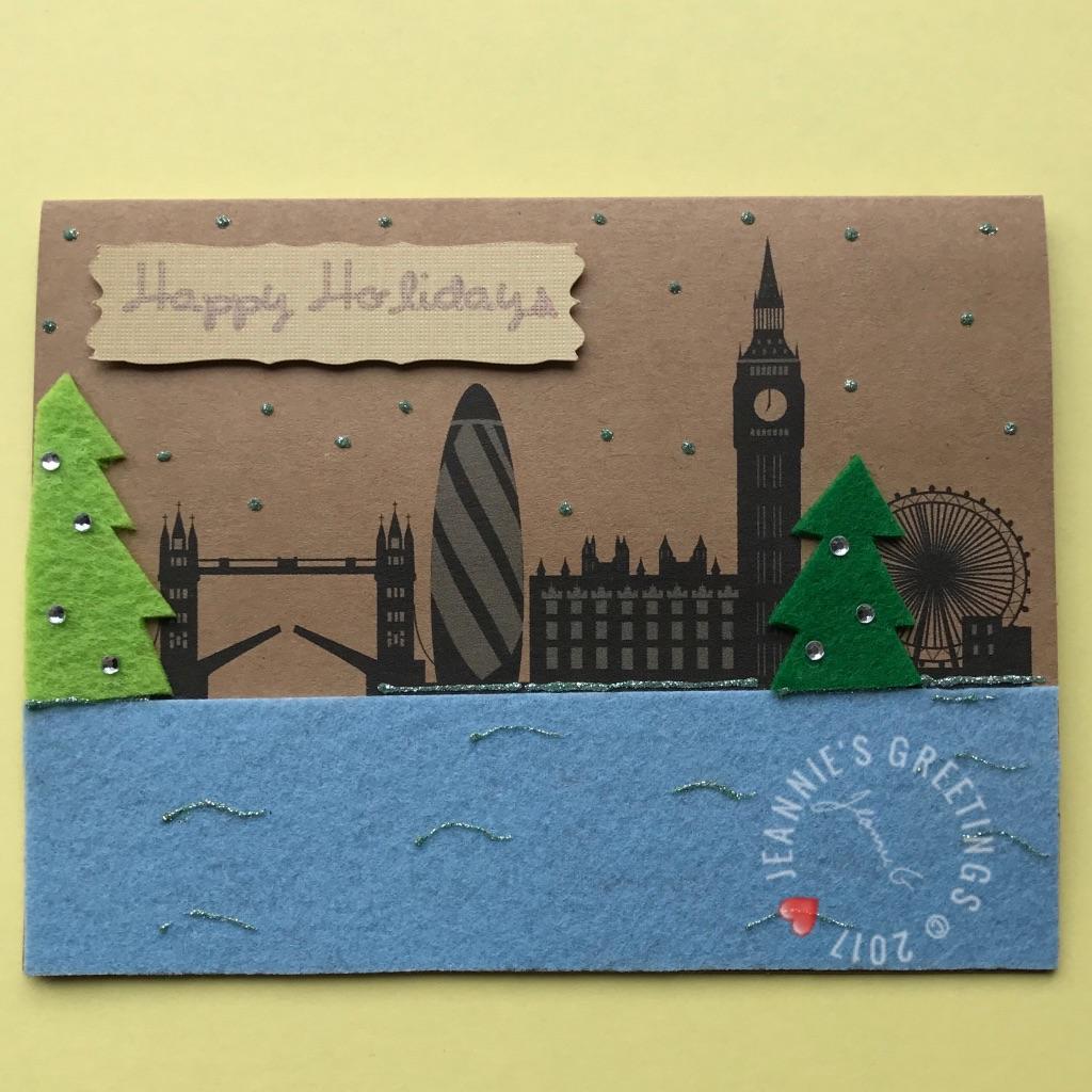 London Happy Holidays Trees 2