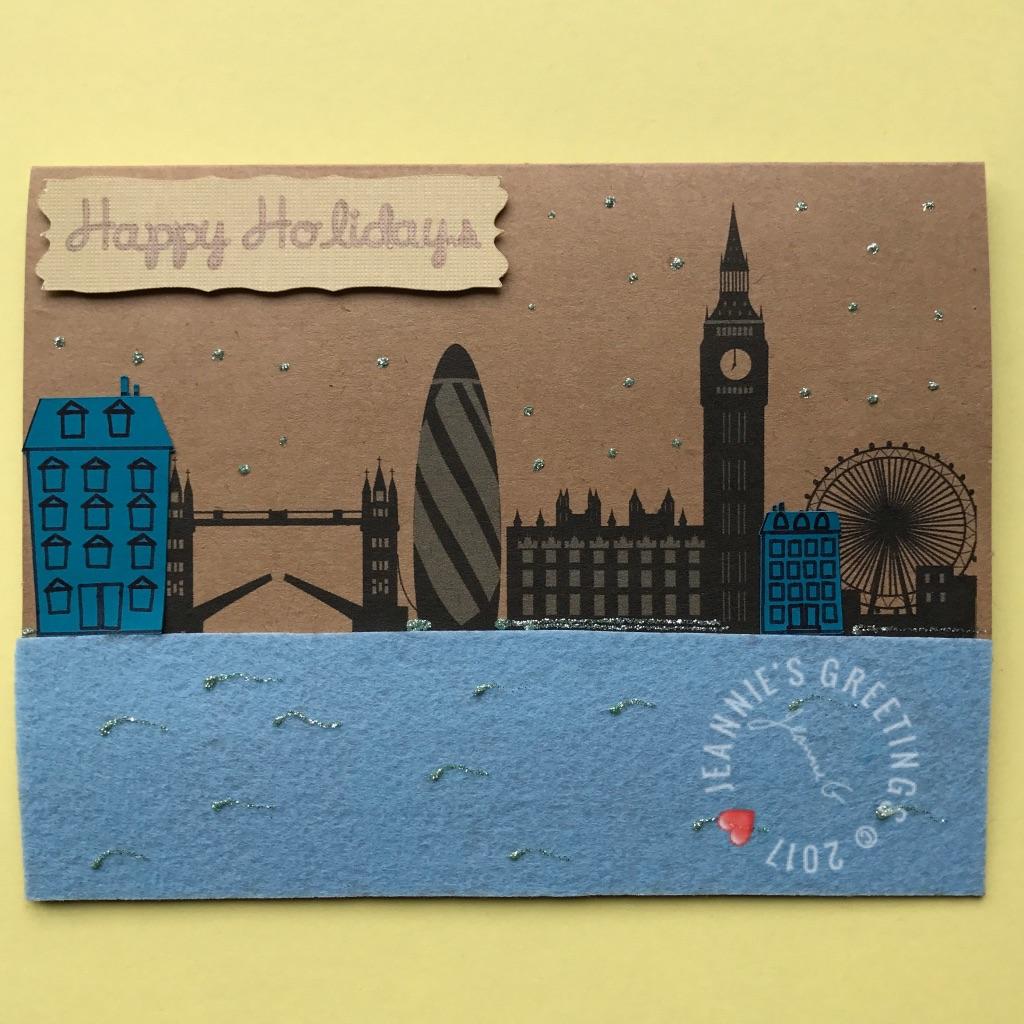 London Happy Holidays Buildings